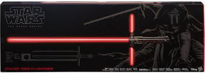 TOYS : JUGUETES - STAR WARS 7 The Black Series Kylo Ren Force FX Lightsaber El Despertar de la Fuerza - The Force Awakens Producto Oficial Película Disney 2015 | Hasbro B3925 | A partir de 14 años Comprar en Amazon España & buy Amazon USA