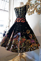 Hand Painted Mexican Dress