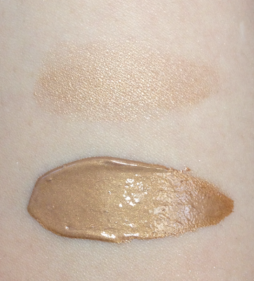 becca shimmering skin perfector swatch topaz