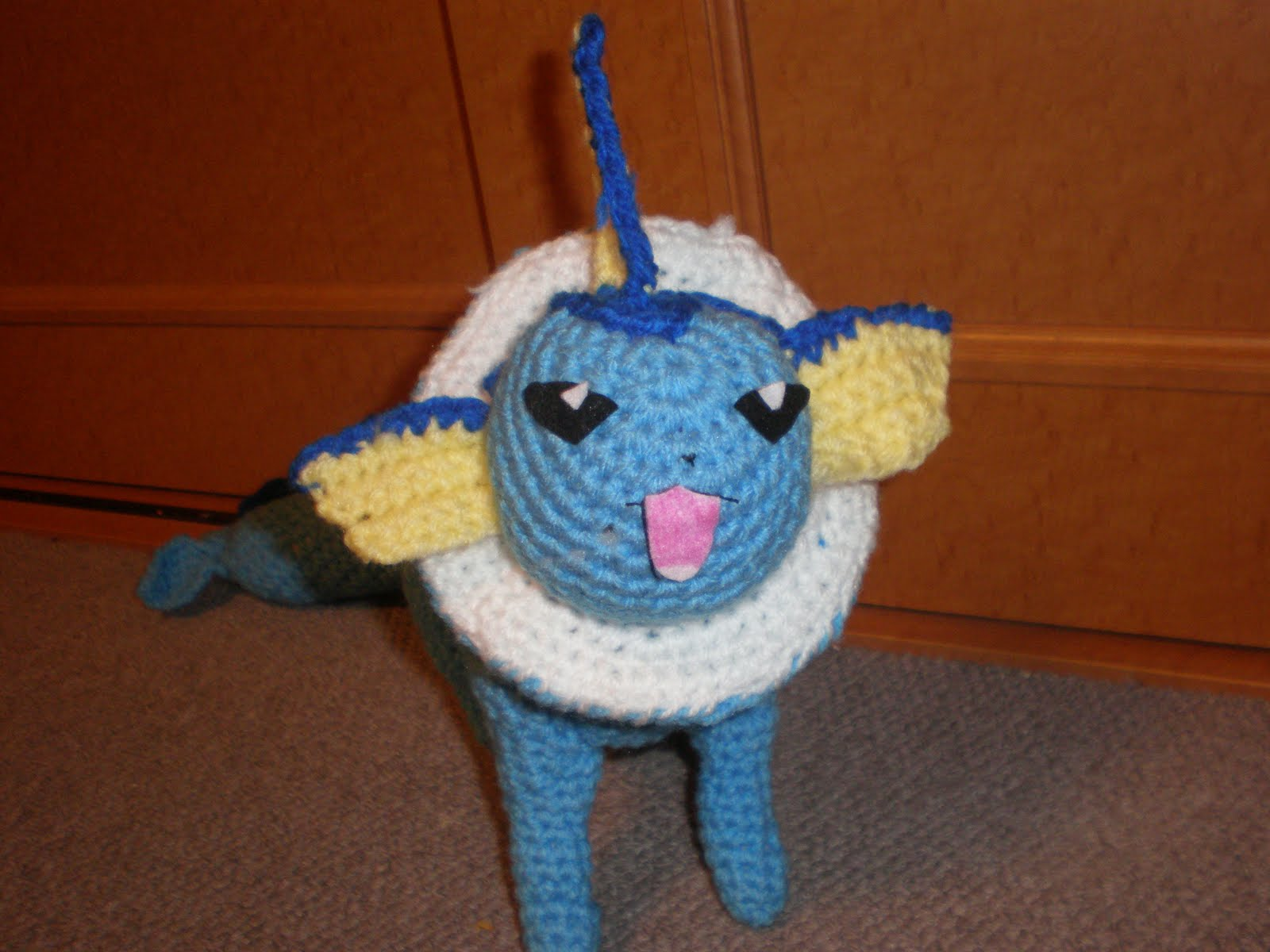 Amigurumi Pokemon Patterns Free : Free amigurumi patterns free crochet pattern for vaporeon