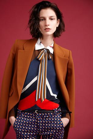 abrigo cuerpo camisa pantalón estampado Zara Mujer otoño invierno