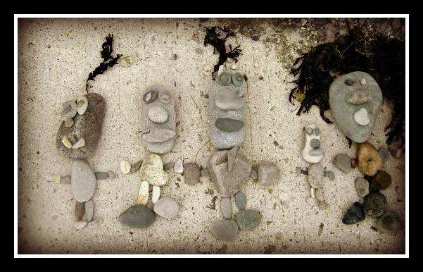 rocks, beach, outdoor activities