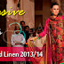 Bashir Ahmed Linen Dresses 2013/14 | Bashir Ahmed Fall-Winter Linen Collection 2013-2014