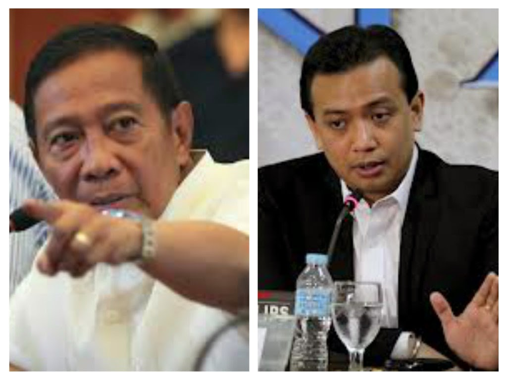 Binay and Trillanes