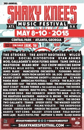 Shakey Knees Music Festival