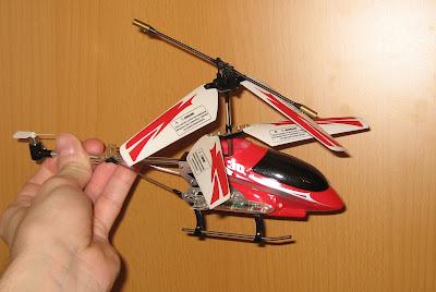 лопасти радиоуправляемого вертолета GYRO-127