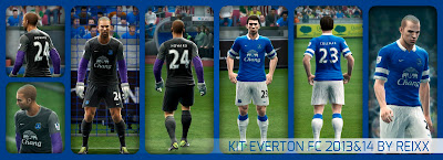 Kitset Everton 2013-2014 by Reixx