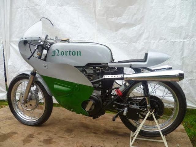 1960 Norton Cafe Racer | Norton Cafe Racer | 1960 Norton Cafe Racer Jubilee For Sale | Vintage Cafe Racer | Norton Cafe Racer For Sale | Norton | way2speed.com