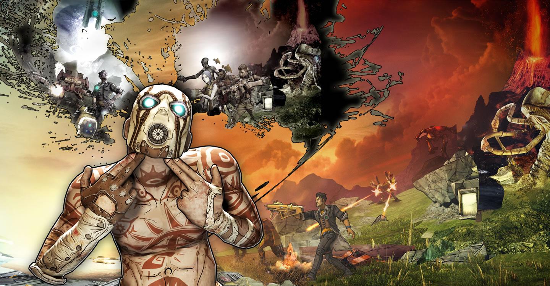 HD Wallpaper Background And Desktop: Borderlands 2