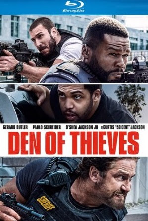 Poster Of Hollywood Film Watch Online Den of Thieves 2018 Full Movie Download Free Watch Online 300MB