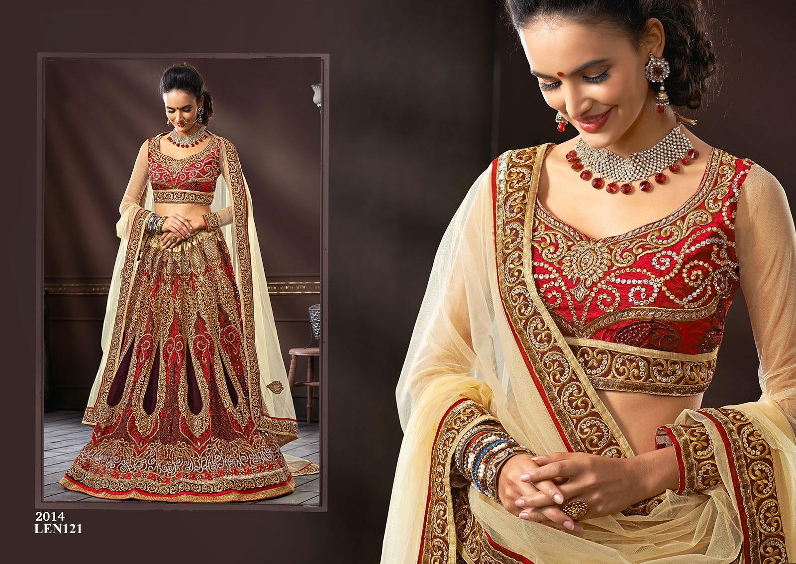Latest Bridal Lehenga Choli For Wedding - Manufacturer | Helix ...