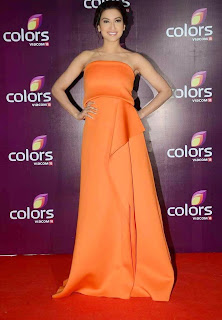 gauhar khan  at colors leadership awards 2015 2.jpg