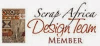 DESIGN TEAM MEMBER FOR SCRAP AFRICA: 2013 & 2014