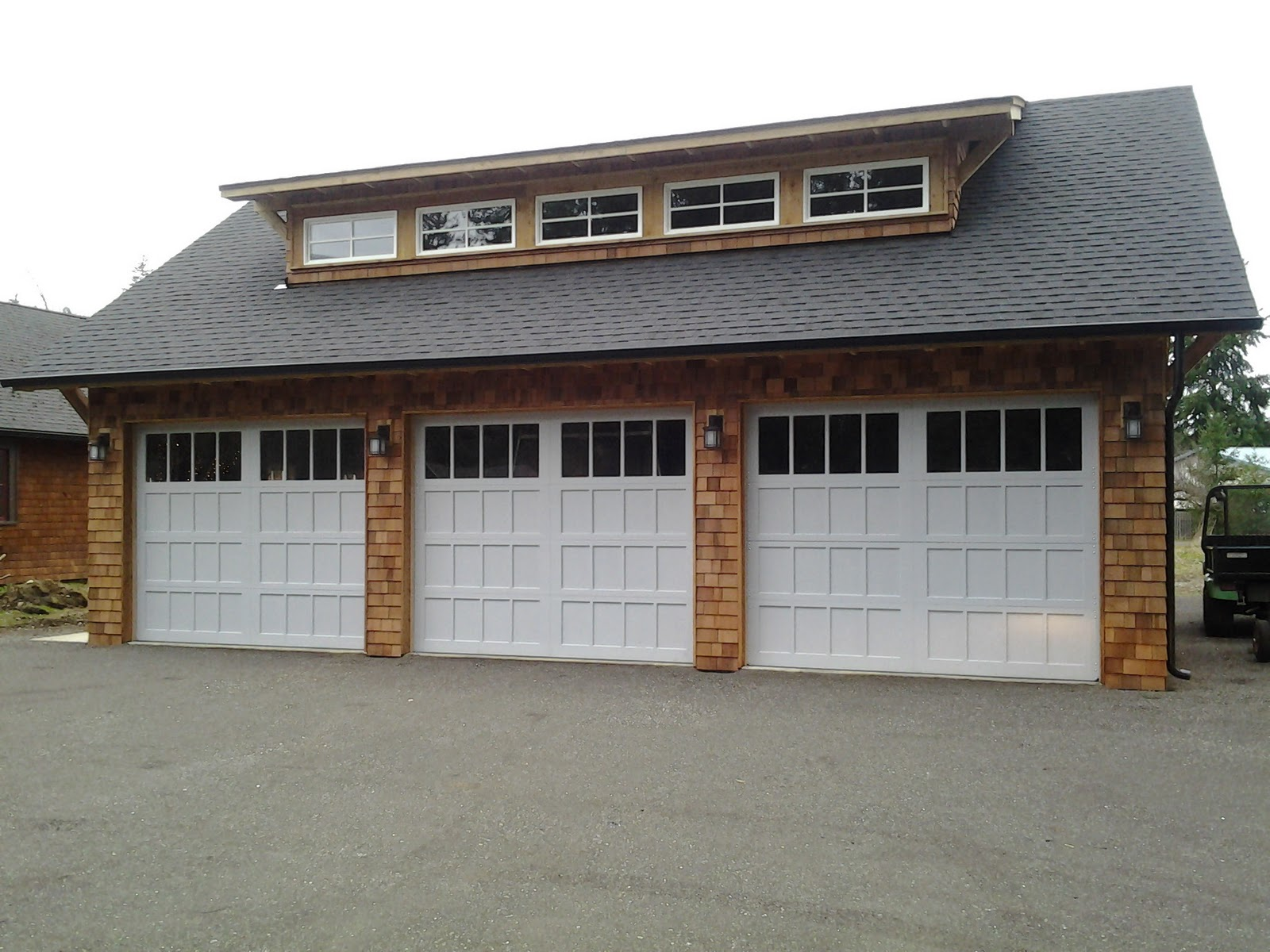 Beautiful New Carriage Style Garage Doors