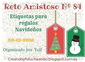 ÚLTIMO RETO AMISTOSO DEL AÑO!!!! RA#84