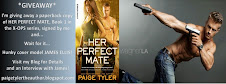 Win a Signed Copy of HER PERFECT MATE (X-OPS 1) Signed by Me and Hunky Cover Model James Ellis!