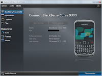 Tutorial Handset Smartphone Cara Upgrade Blackberry Desktop