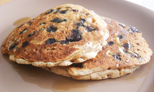 Vegan Gluten-Free Blueberry Pancake Recipe - Nayla Natural Care's Blog ...