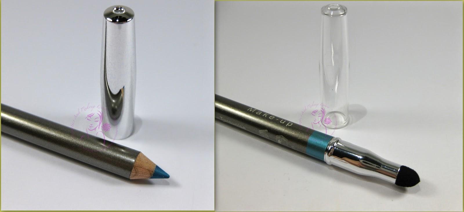 Labo Make-Up - Fashion Treatment Eye Pencil n° 12 -Turquoise/Turchese - estremità