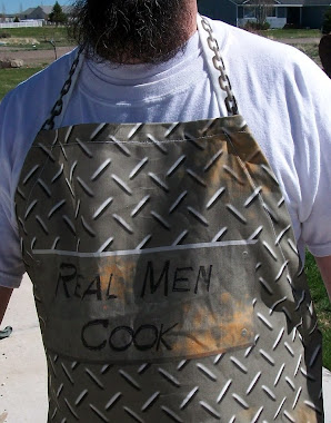 """Real Men"" Apron"