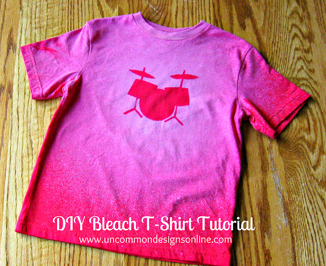 Diy bleach t shirt for Diy t shirt design