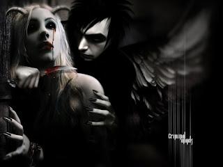 angeles goticos