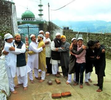 Eid Al-Fitri festivities in Kalimpong was celebrated