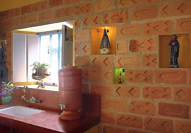 decoracao de interiores paredes pintadas: parede da Fazenda Borba Gato. Projeto da designer de interiores – Neza