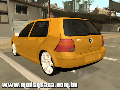 Volkswagen Golf Flash Edit para GTA San Andreas