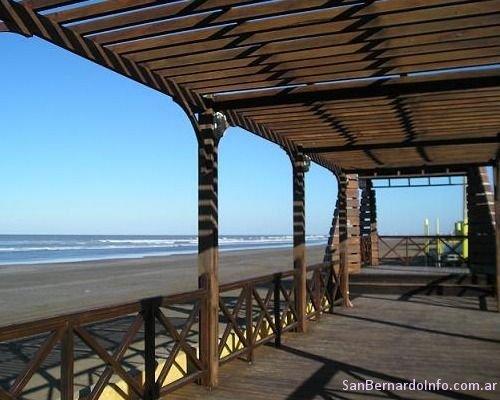 Mirador en la costa de San Bernardo