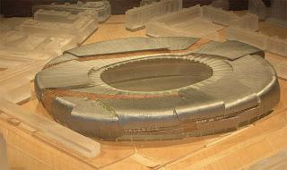 Maquete do projeto do estádio do Valencia