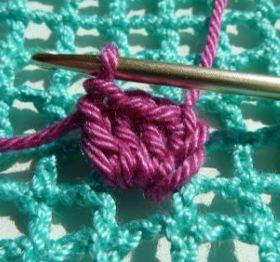 como se teje crochet ondeado o wiggly
