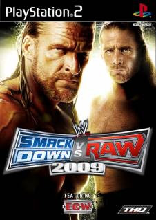 WWE SmackDown vs. Raw 2009   PS2