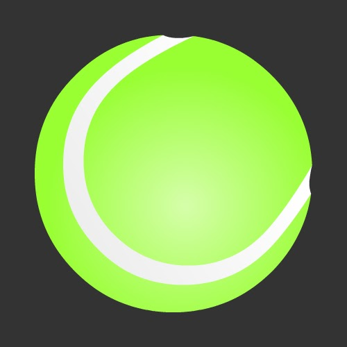 tennis ball icon free only on vector icons download