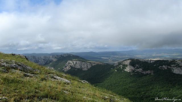 Байдарская долина. Вершина Ильяс-Кая