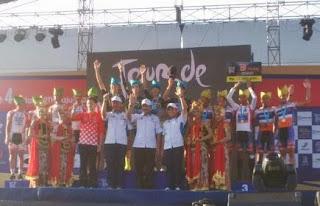 Hasil lengkap balap sepeda International Tour de Banyuwangi Ijen 2015.