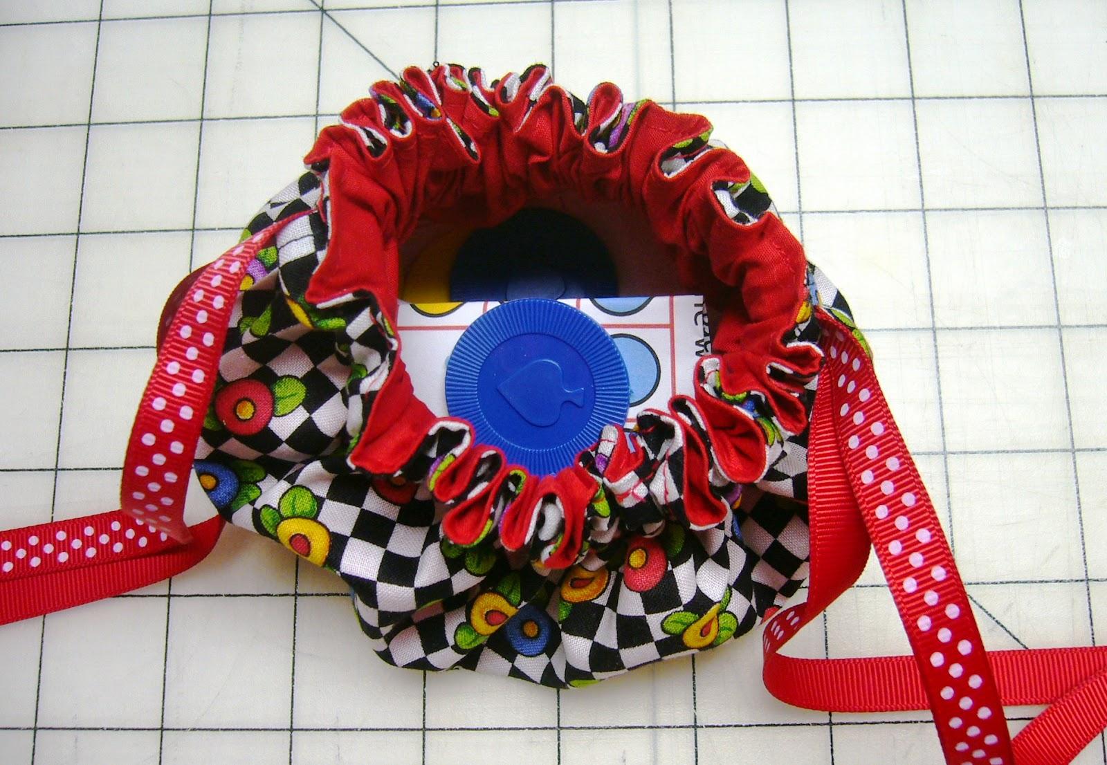 Traveling Tic Tac Toe Game with Drawstring Bag DIY