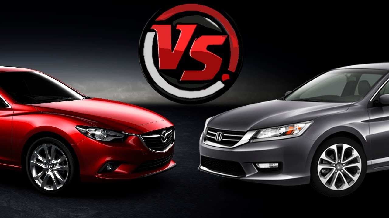 Mazda 6 Vs Honda Accord