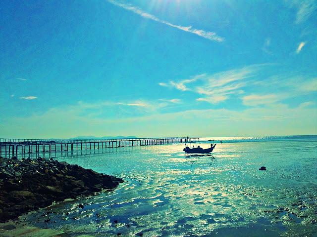 pantai teluk tempoyak jeti nelayan jambatan pulau pinang kedua
