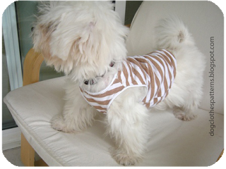 dog T shirt free patterns