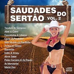 Saudades do Sert%C3%A3o Vol.2 Frente Saudades do Sertão Vol.2