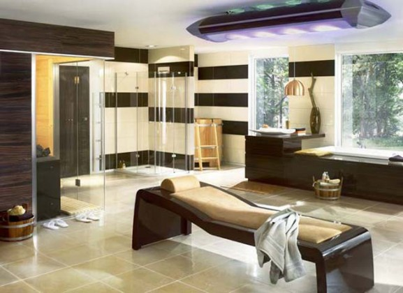 EUROPEAN STYLED DESIGN IDEAS BATHROOM
