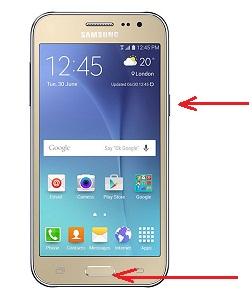 Cara Screenshot Samsung Galaxy J2 Terbaru Dengan Mudah
