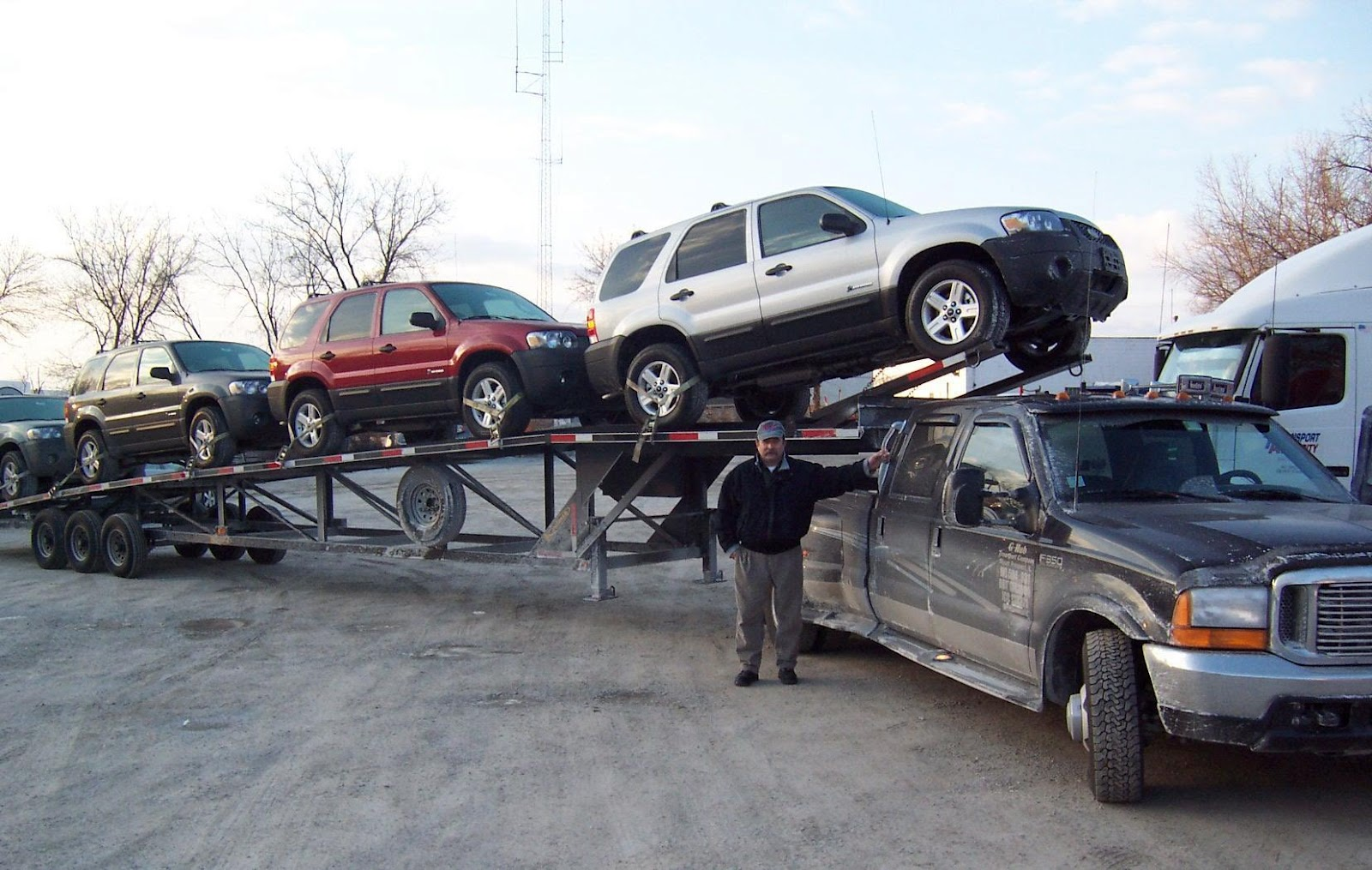 Get A Quote For  Cars From National Transport