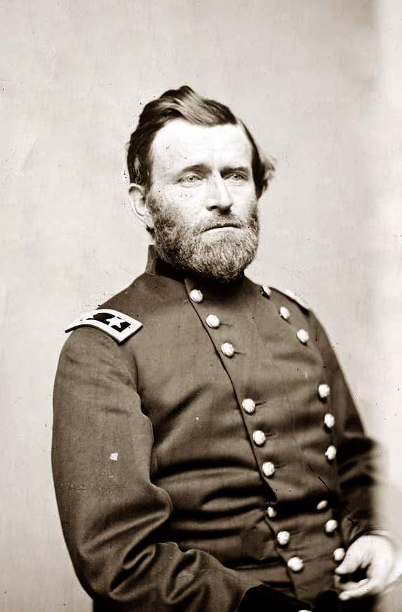 How was grant differnt than past union commanders? ( film April 1865)?