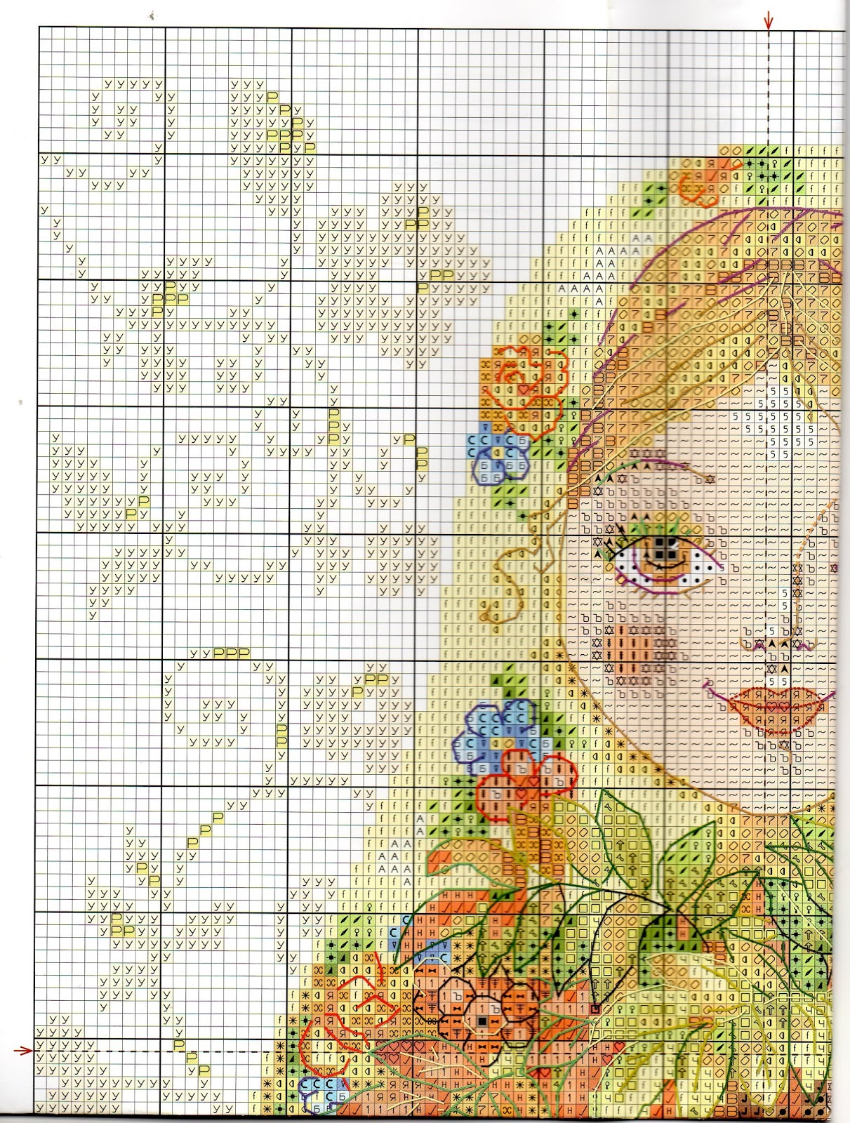 Схемы для вышивания формат pdf