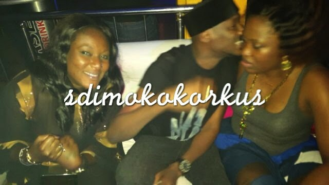Revealed How Annie Idibia Stormed Nightclub Where 2face