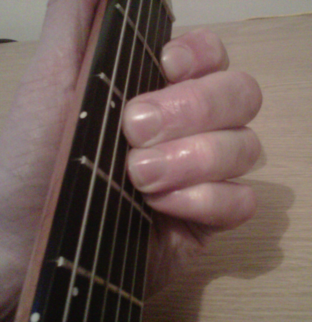 A New Guitar Chord Every Day Bb Guitar Chord B Flat Guitar Chord