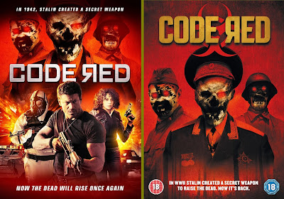 Code Red, cover Usa e UK