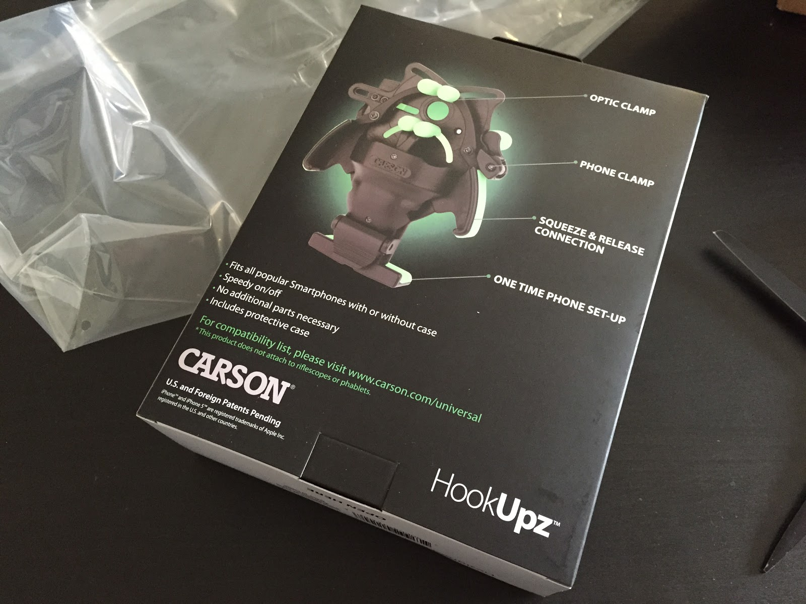 carson universal package back